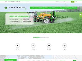 预览农业网站模板的PC端-模板编号:619