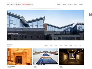 预览建筑/建材网站模板的PC端-模板编号:725