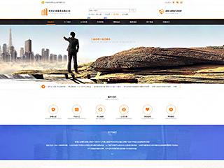 预览商业网站模板的PC端-模板编号:290