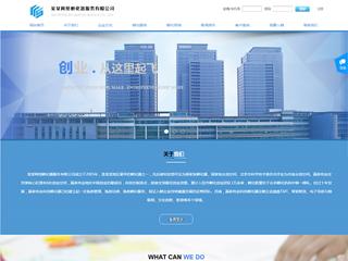 预览商业网站模板的PC端-模板编号:301