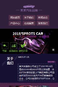 预览汽车服务网站模板的手机端-模板编号:905