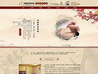 预览文化网站模板的PC端-模板编号:1058