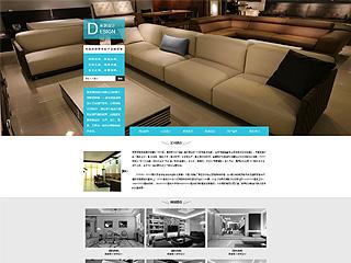 预览设计/装饰网站模板的PC端-模板编号:1119