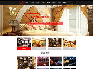 预览设计/装饰网站模板的PC端-模板编号:1084