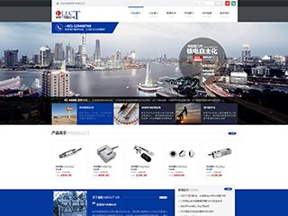 预览电子/电气网站模板的PC端-模板编号:1274