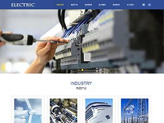 预览电子/电气网站模板的PC端-模板编号:1292