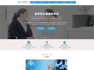 预览医疗/保健网站模板的PC端-模板编号:2165