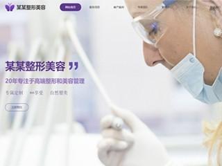 预览医疗/保健网站模板的PC端-模板编号:2168