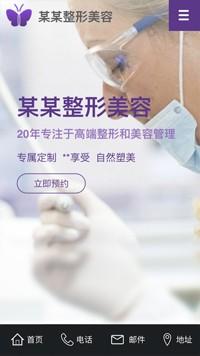 预览医疗/保健网站模板的手机端-模板编号:2168