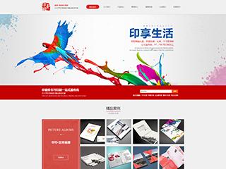 预览印刷/包装网站模板的PC端-模板编号:2279