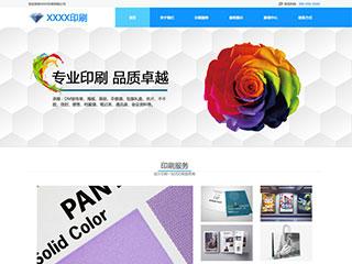 预览印刷/包装网站模板的PC端-模板编号:2268