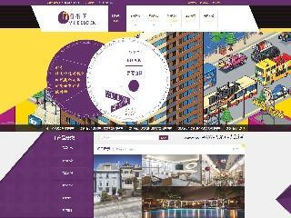 预览房地产网站模板的PC端-模板编号:2325
