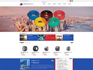 预览橡胶/塑料制品网站模板的PC端-模板编号:2342