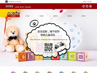 预览玩具网站模板的PC端-模板编号:2609