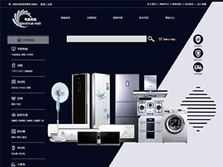 预览网站模板的PC端-模板编号:2916