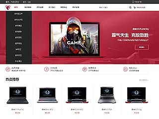 预览网站模板的PC端-模板编号:2878
