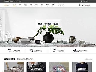 预览网站模板的PC端-模板编号:2919